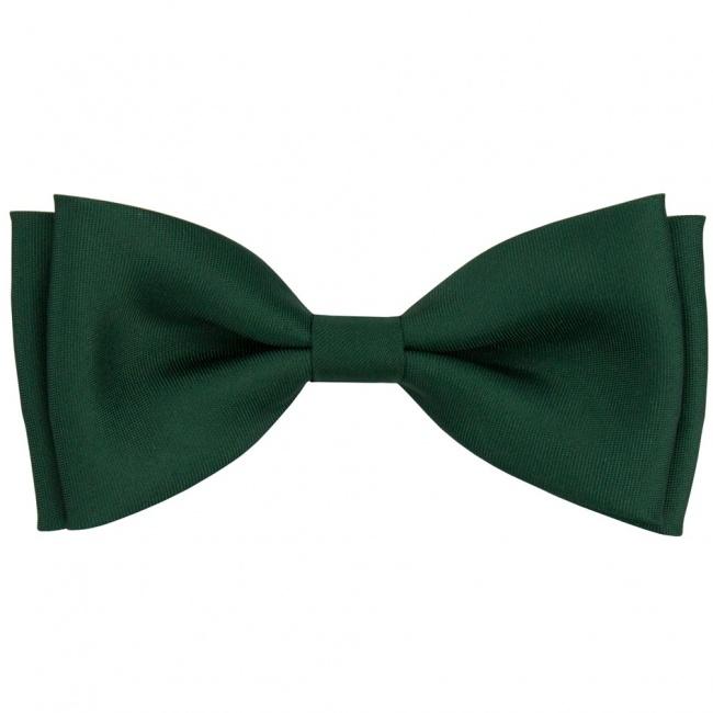 Smaragdově zelený pánský motýlek