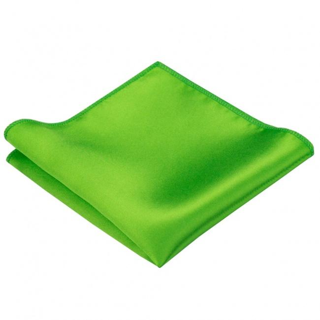 Jasně zelený pánský kapesníček do saka