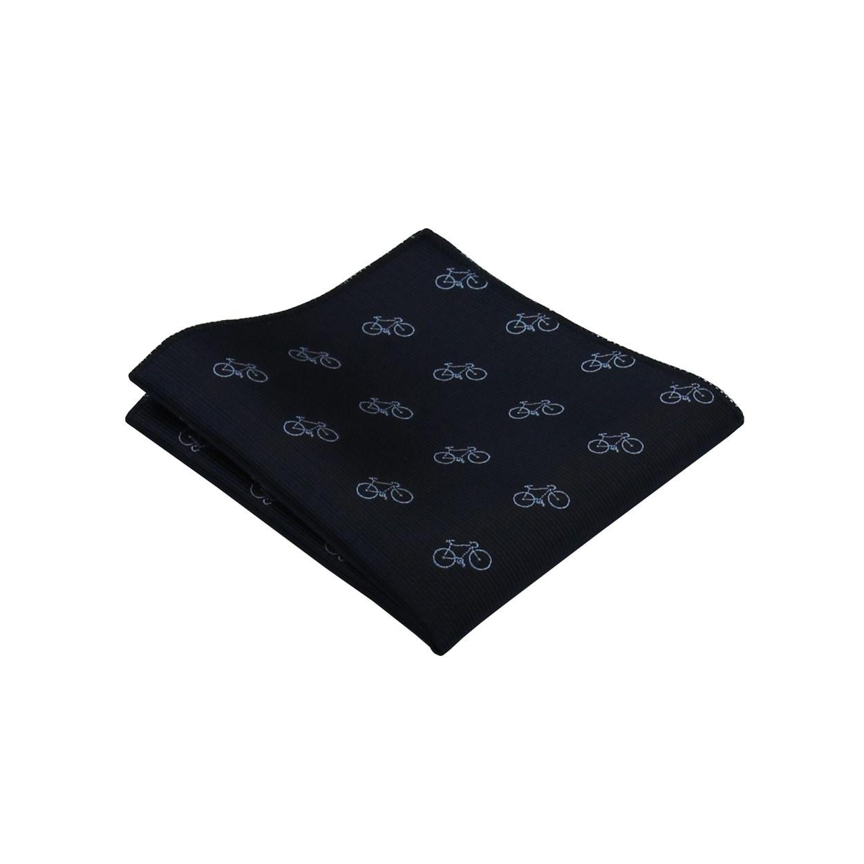 Tmavě modrý pánský kapesníček do saka KOLO
