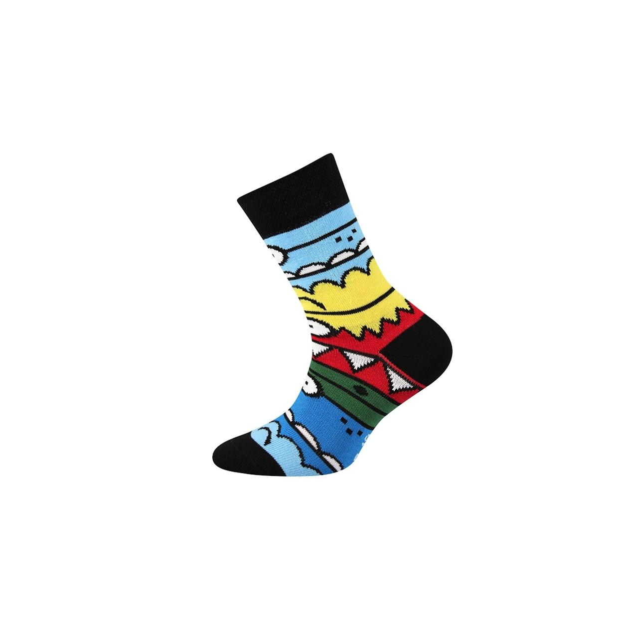 Černé pánské ponožky TLAMIK