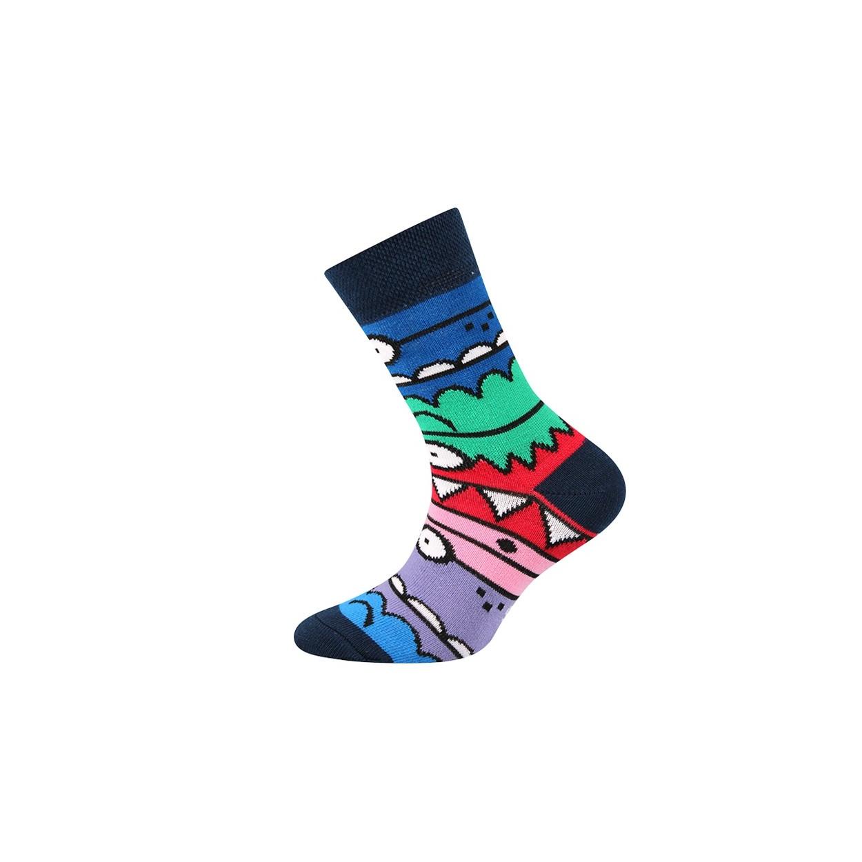Tmavě modré pánské ponožky TLAMIK