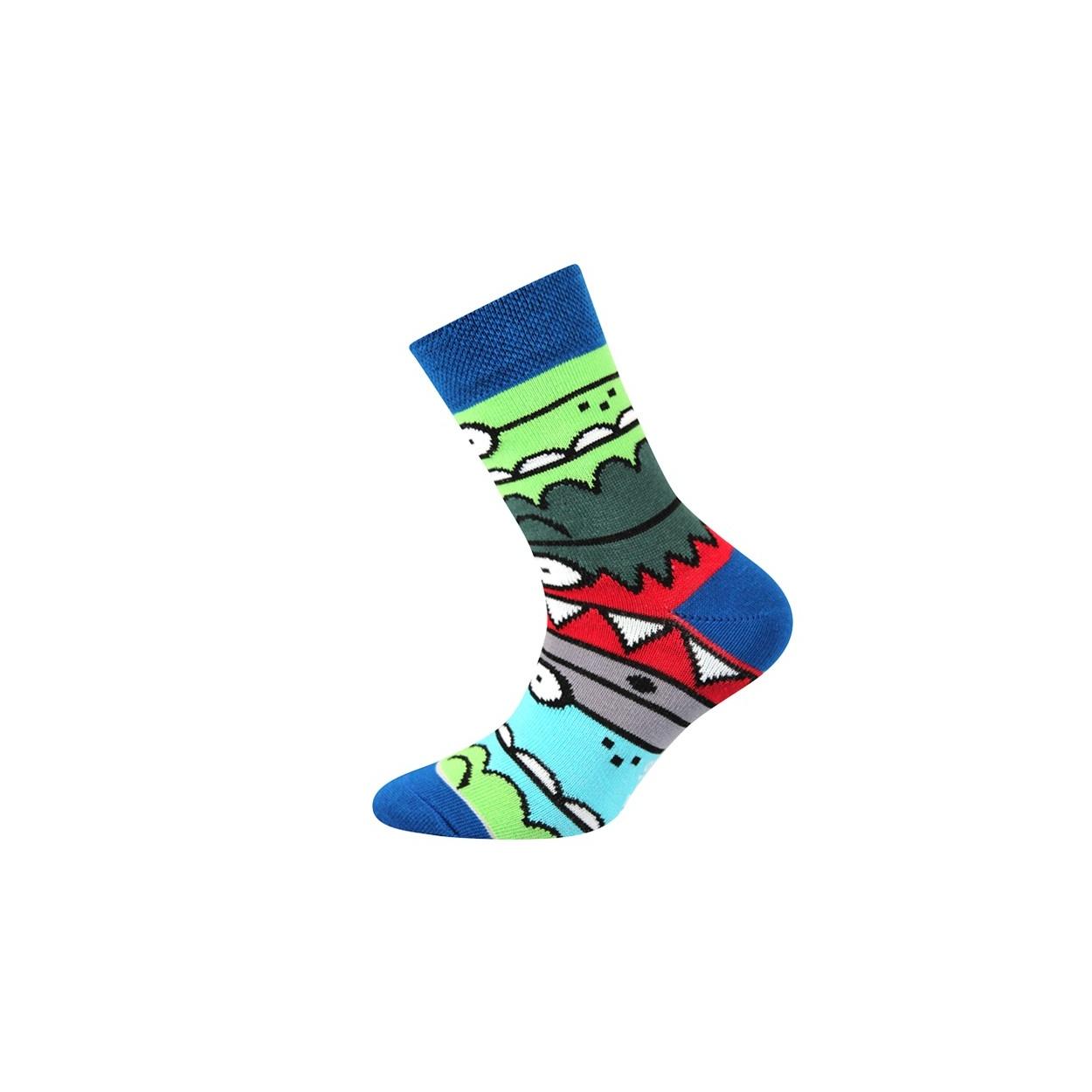 Modré pánské ponožky TLAMIK