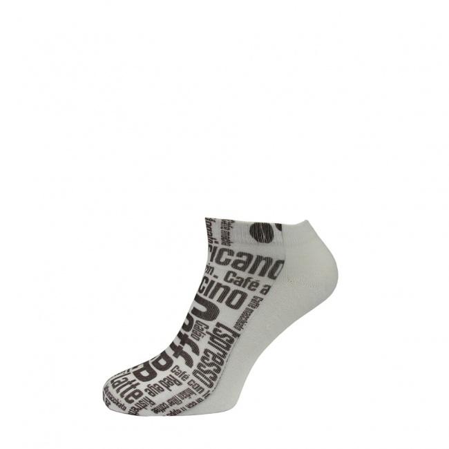 Pánské ponožky nízké - Coffee
