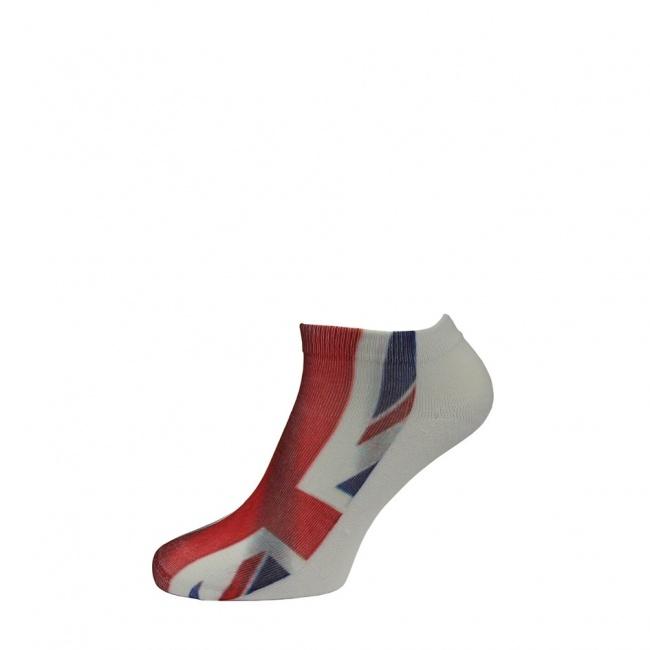 Pánské ponožky nízké - vlajka GB