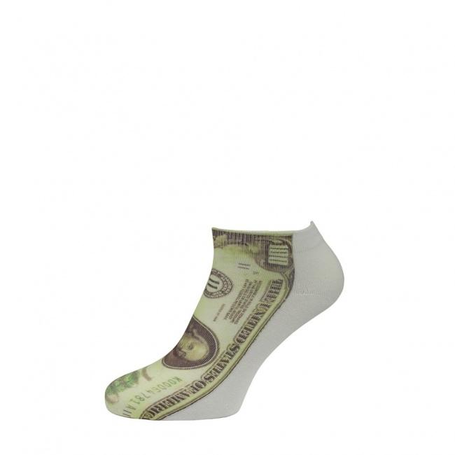 Pánské ponožky nízké - Bankovka