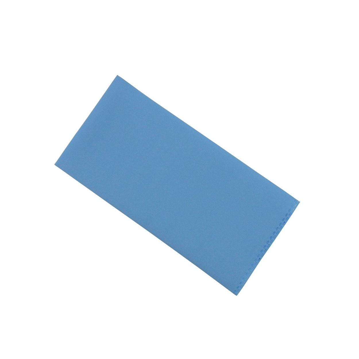 Světle modrý pánský kapesníček do saka