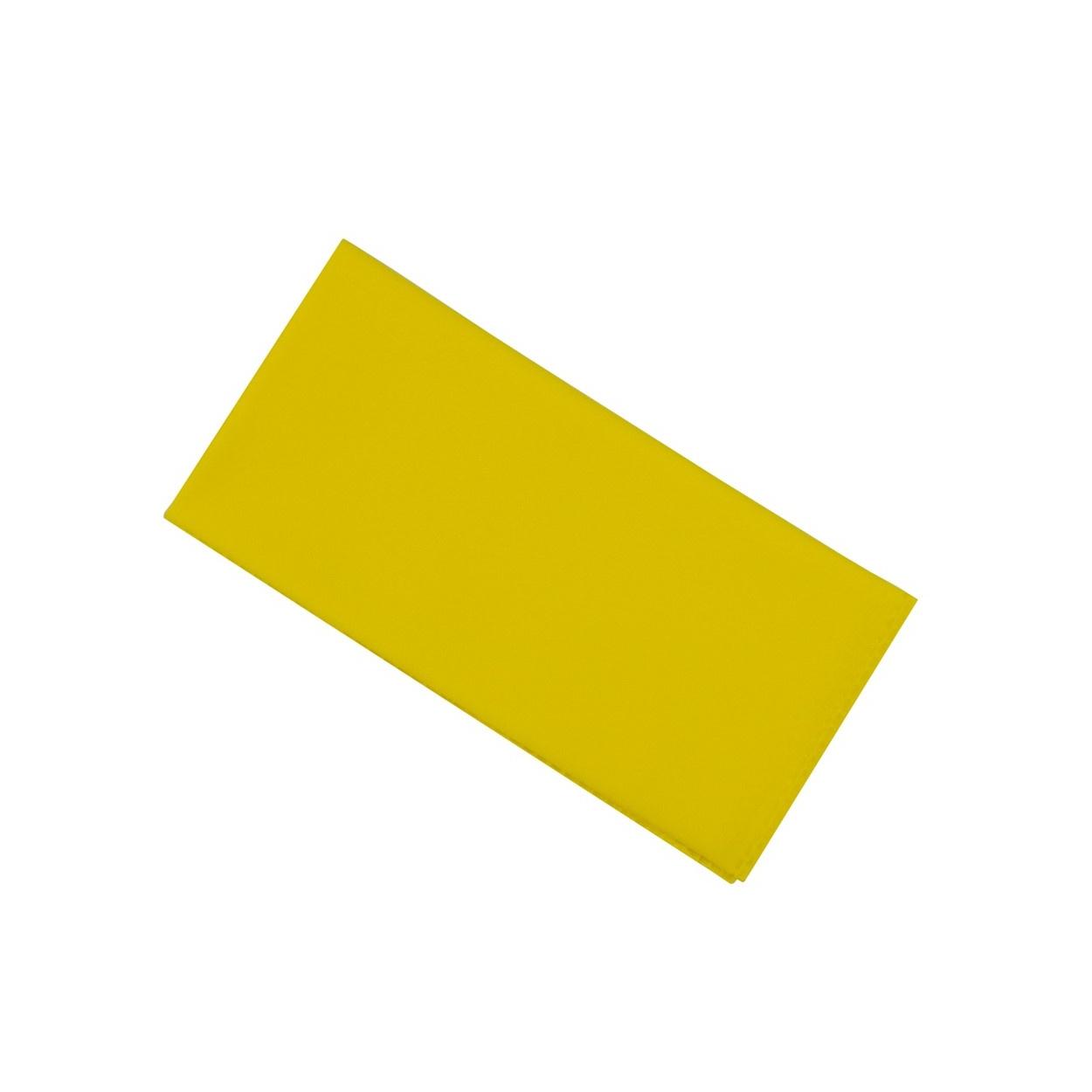 Žlutý pánský kapesníček do saka