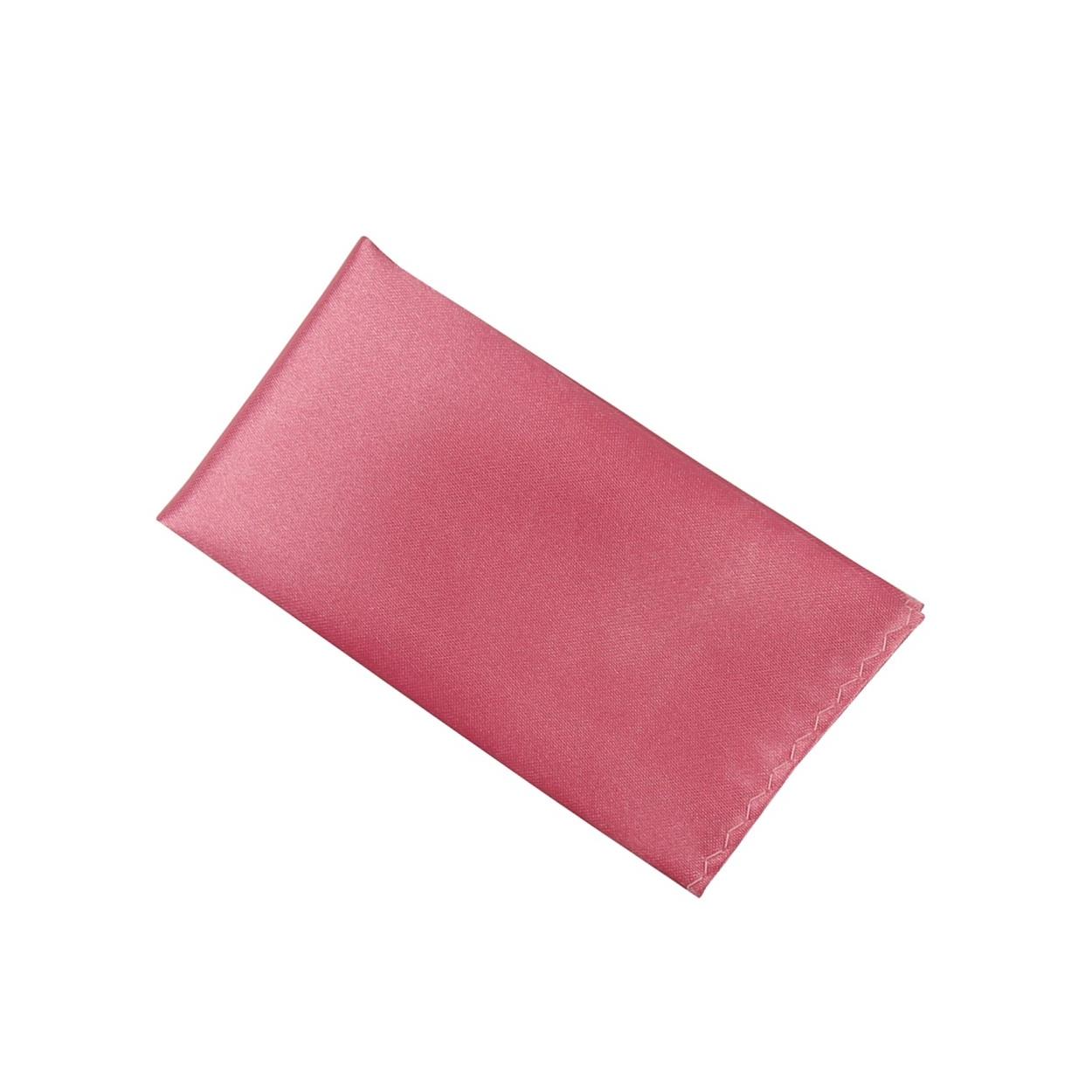 Růžový pánský kapesníček do saka