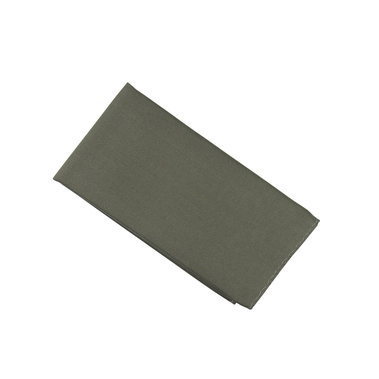 Tmavě šedý kapesníček do saka matný