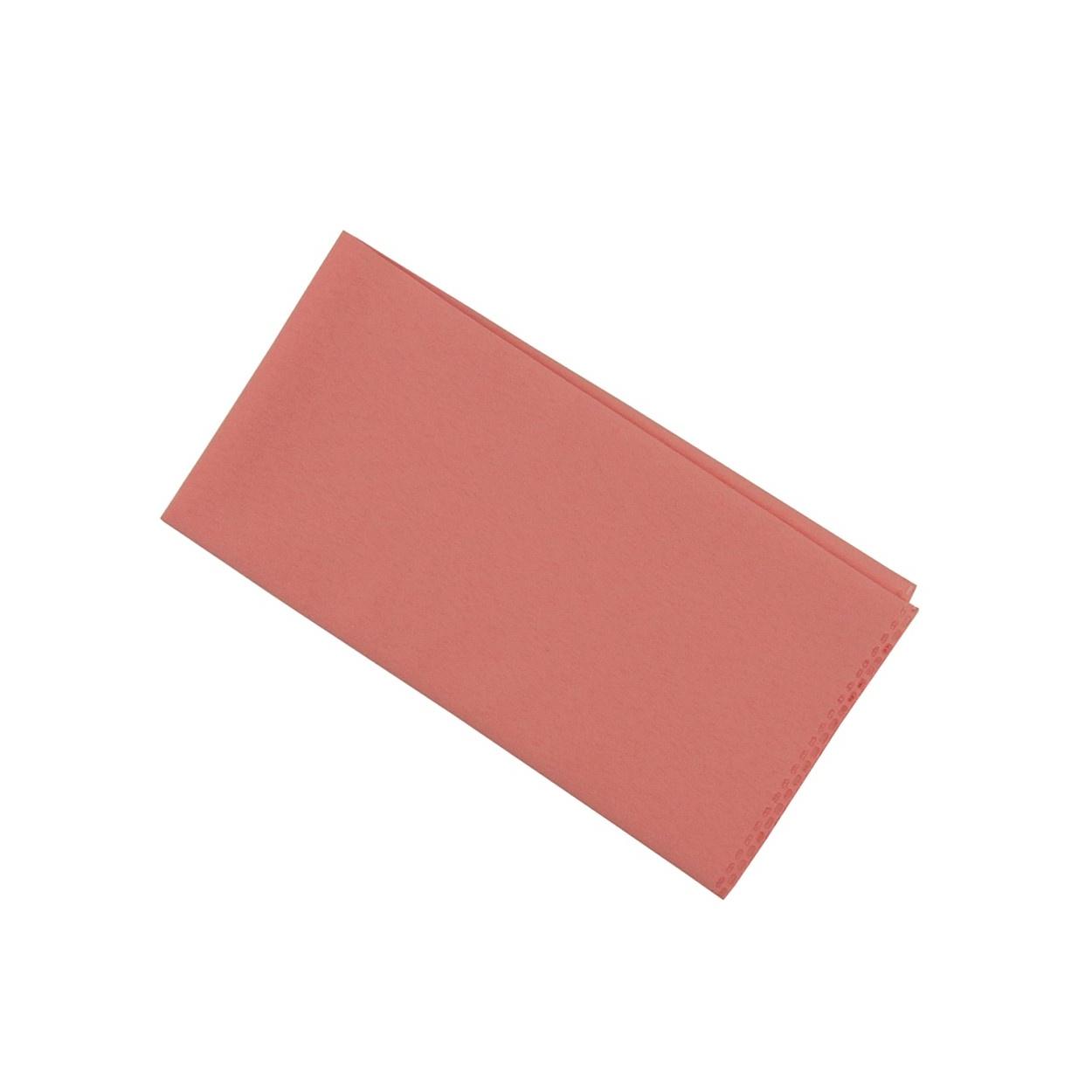 Světle růžový kapesníček do saka matný