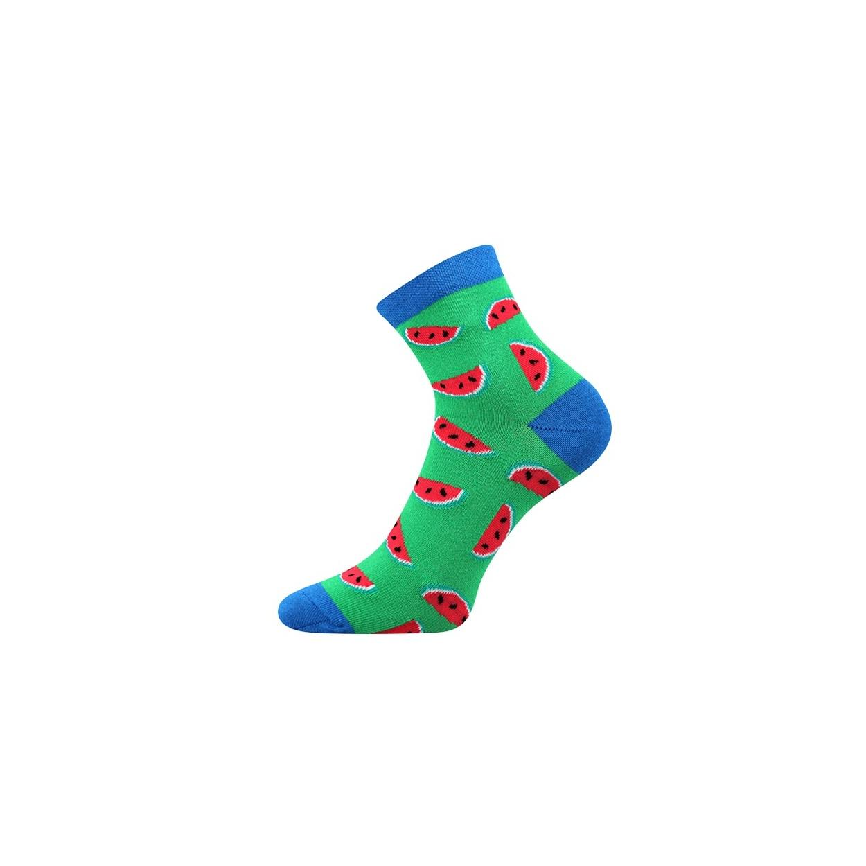 Zelené pánské ponožky MELOUN