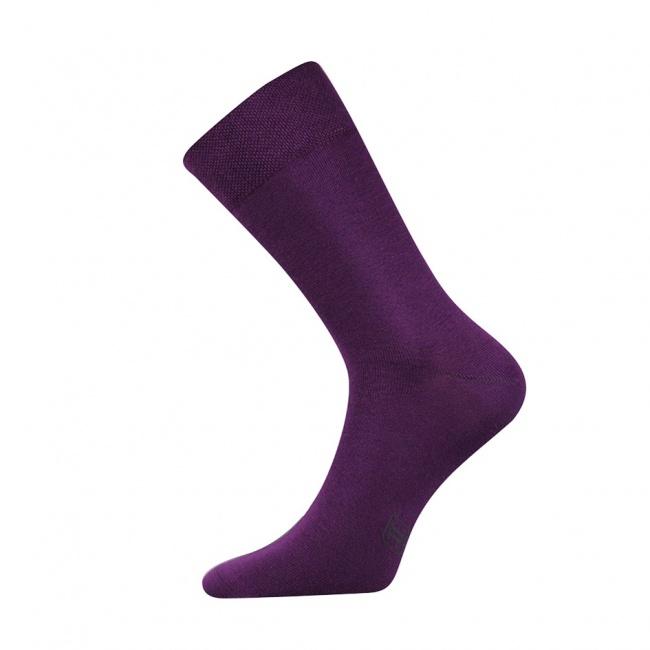 Fialové pánské ponožky Decolor