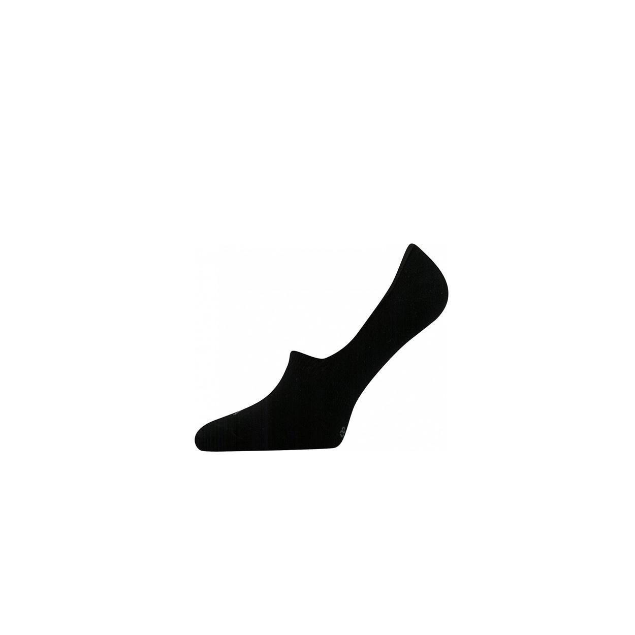 Černé pánské ponožky nízké