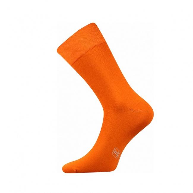 Oranžové pánské ponožky Decolor