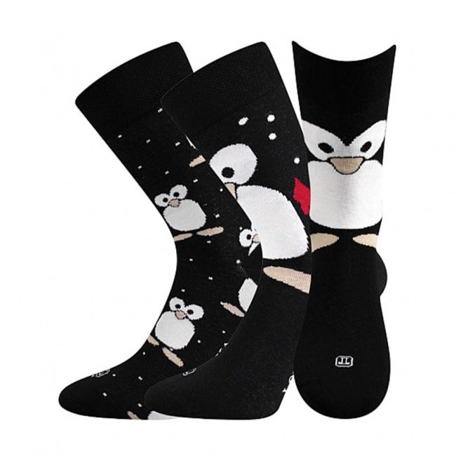 Černé pánské ponožky TUČNÁCI