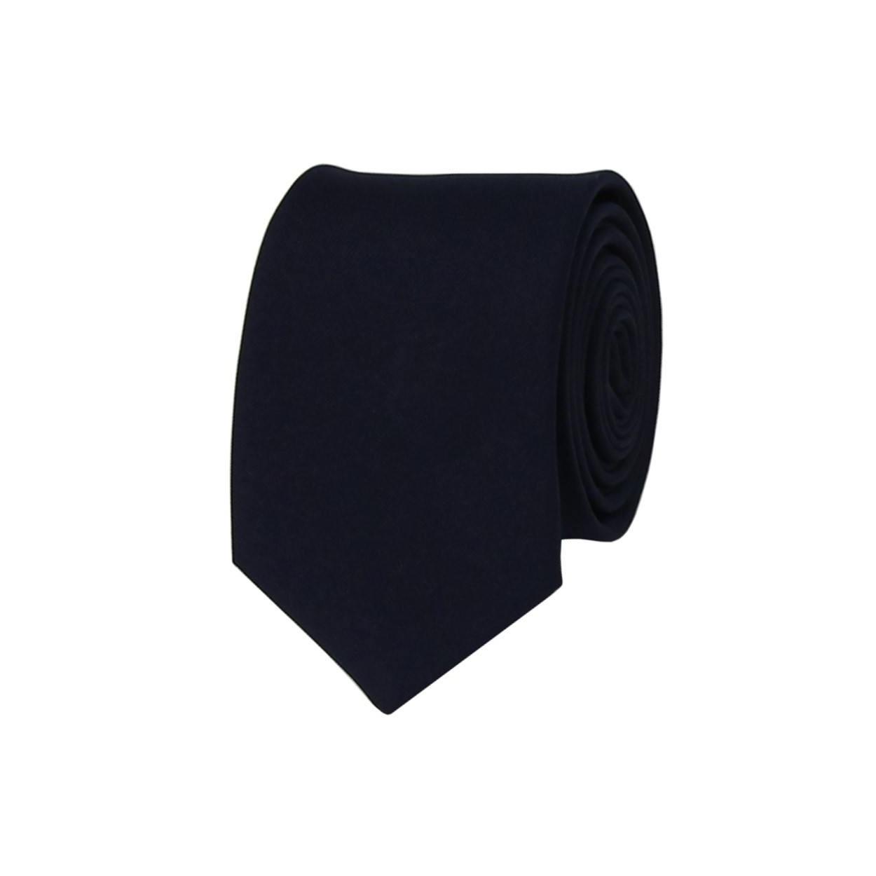 Tmavě modrá pánská kravata