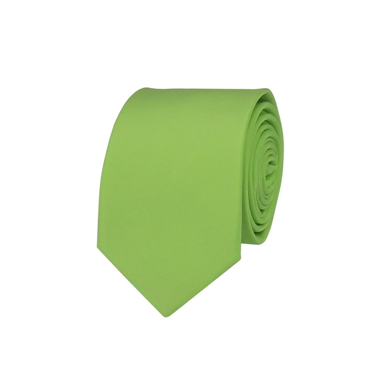 Pistáciově zelená pánská kravata