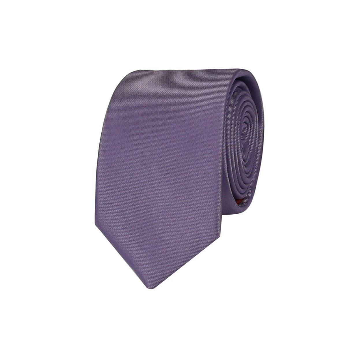 Fialová pánská kravata