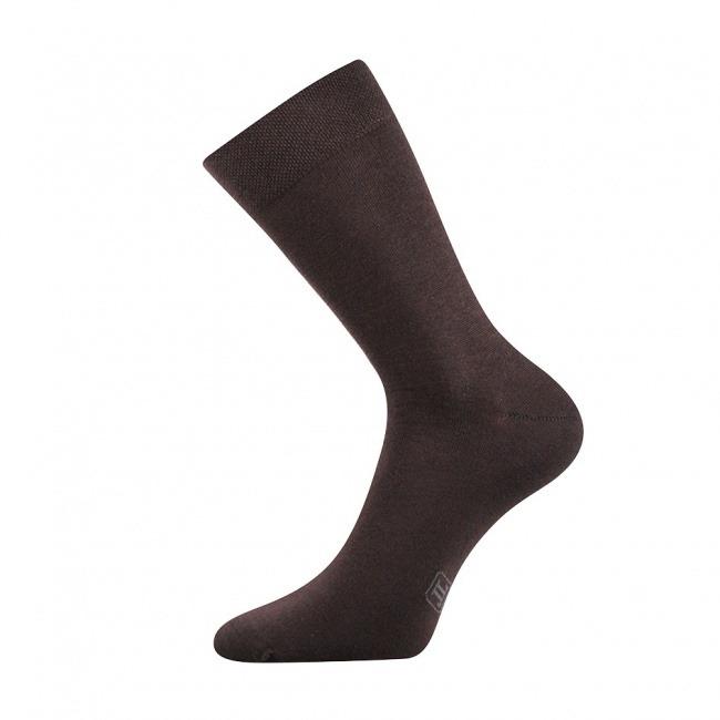 Pánské hnědé ponožky