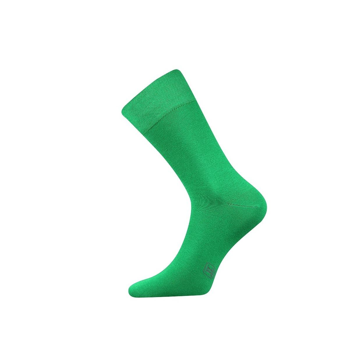 Zelené pánské ponožky Decolor