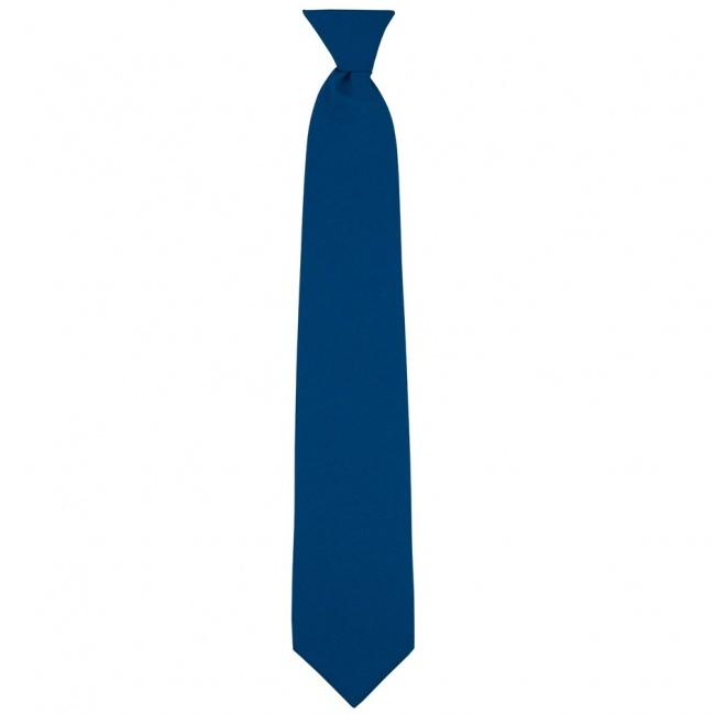 Modrá dětská kravata jednobarevná