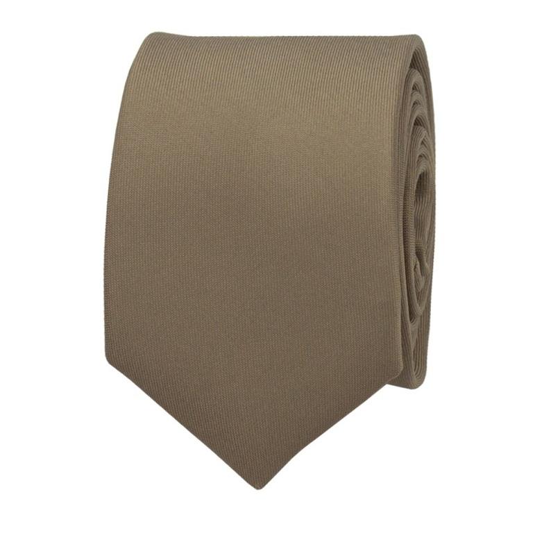 Hnědá pánská kravata